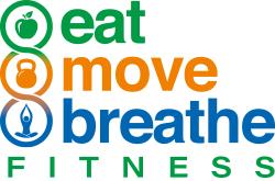 Eat Move Breathe –  Personal Training, Nutrition, Yoga Logo